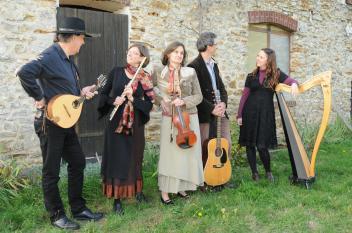 clonakilty cecile branche harpe chant concert celtique